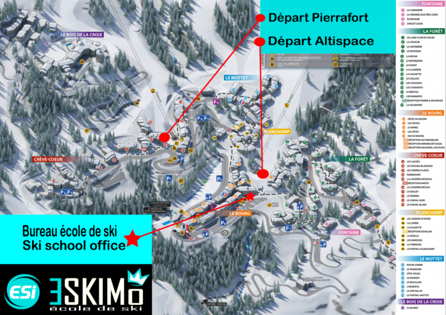 Meeting Points Valmorel